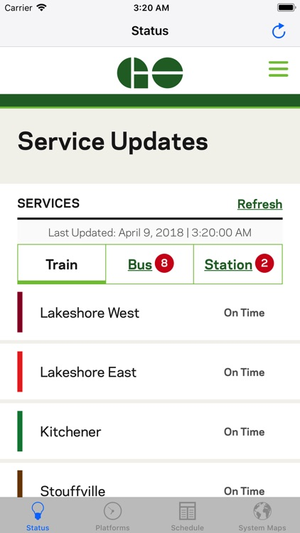GOToronto: GO Transit Sidekick screenshot-0