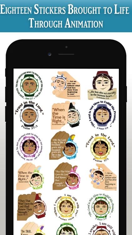 God's Timing Scripture Emojis screenshot-8