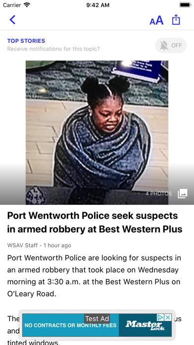 WSAV News - Savannah, GA screenshot three