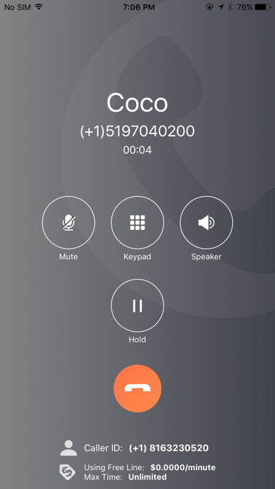 Wetalk Internet Calls review screenshots