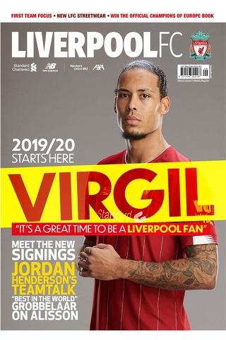 Liverpool FC Magazines - náhled