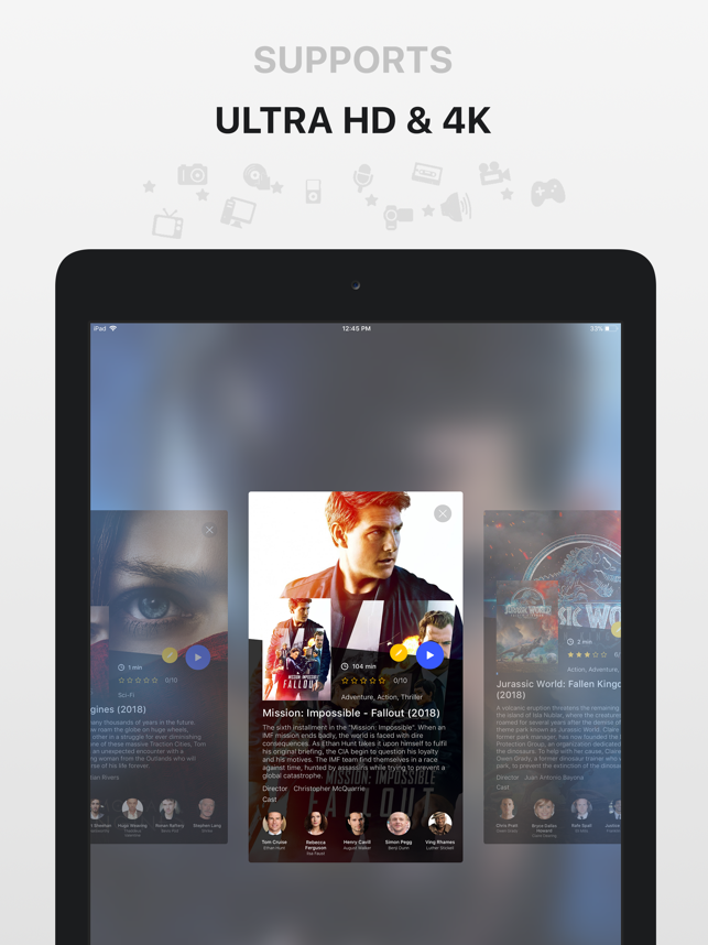 ‎PlayerXtreme Media Player Screenshot