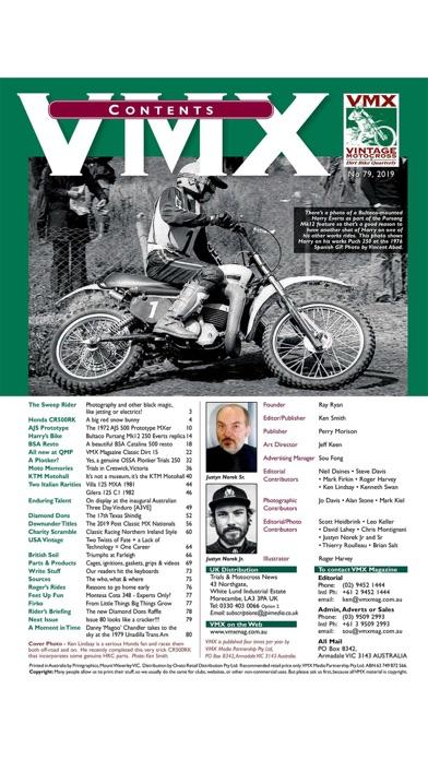 VMX Magazine – Quarterly screenshot two