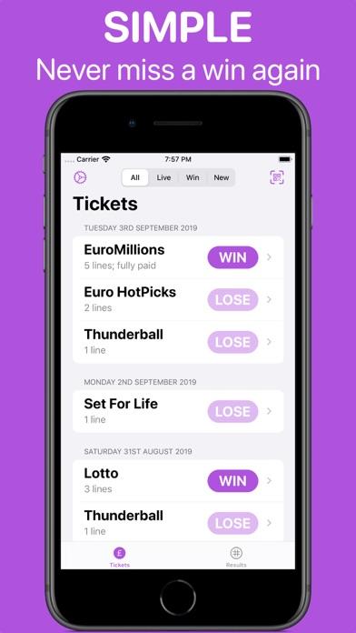 Lotto Lens screenshot three