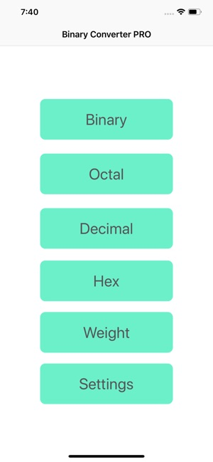 Binary Converter PRO App on the App Store