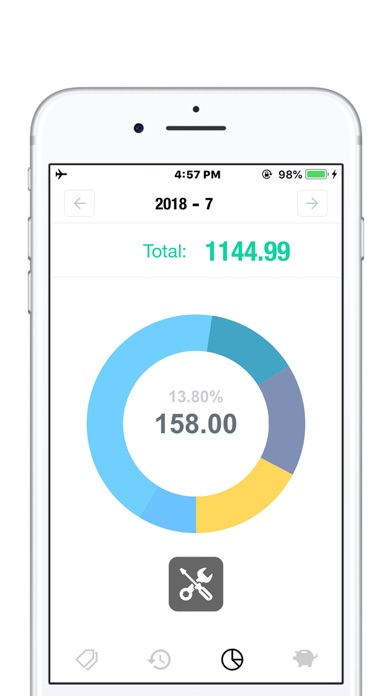 NextCost-Daily Cost,My Savings Screenshots