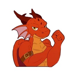 Red Dragon Sticker Pack
