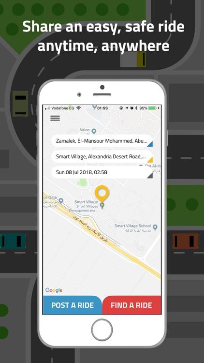 Sway Carpooling App By Bassel Yehia