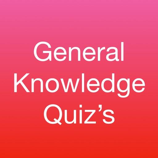 General Knowledge Quiz's