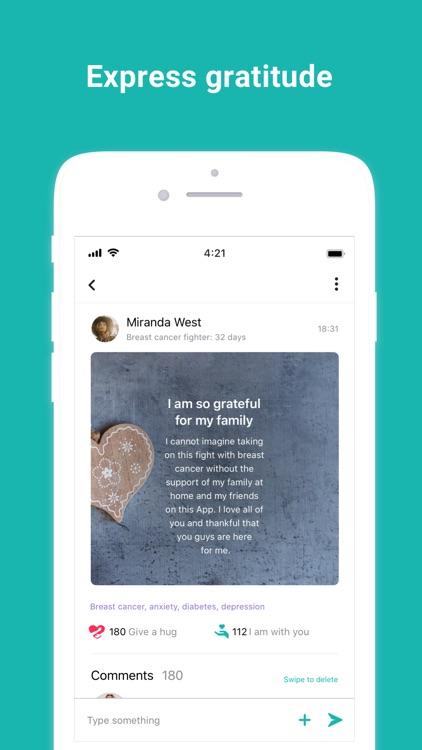WeAreMore: My Support Network screenshot-3