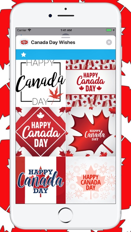 Canada Day Wishes screenshot-9