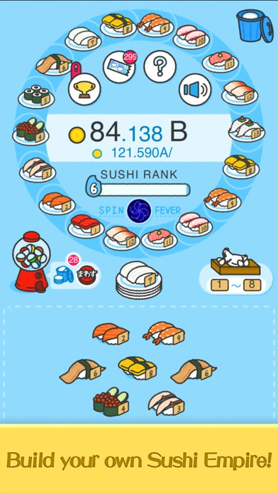 Merge Sushi - Best Idle Game screenshot 1