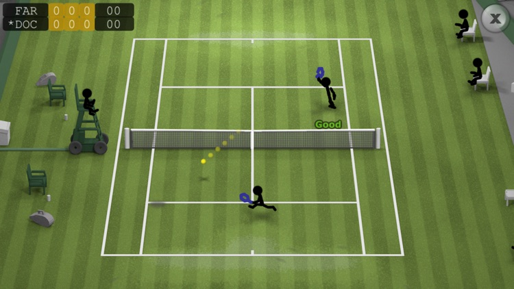 Stickman Tennis screenshot-1