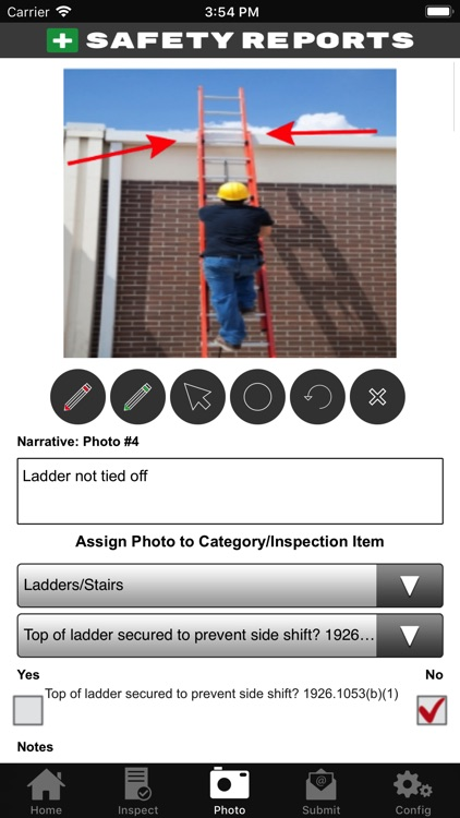 Safety Reports Inspection App screenshot-4