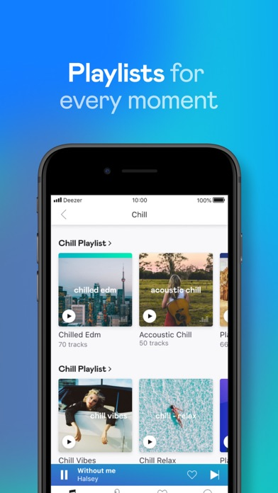 Deezer: Play & Listen to Music screenshot four