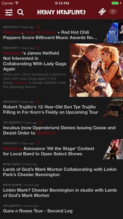 Heavy Headlines