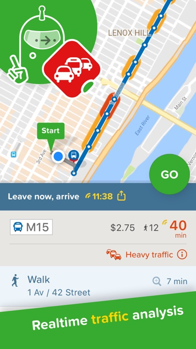 Screenshot for Citymapper Transit Navigation in Greece App Store
