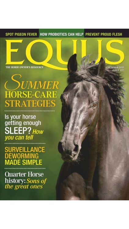 EQUUS Magazine screenshot-0