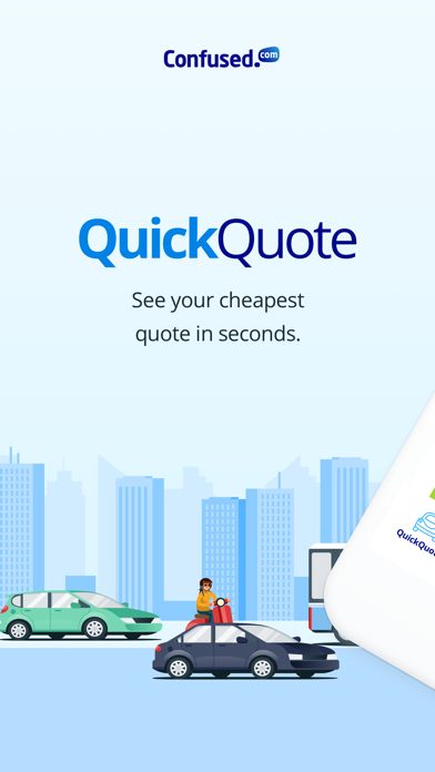 Confused.com QuickQuote screenshot four