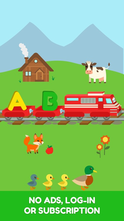 Troy - Letters & Numbers Train screenshot-4