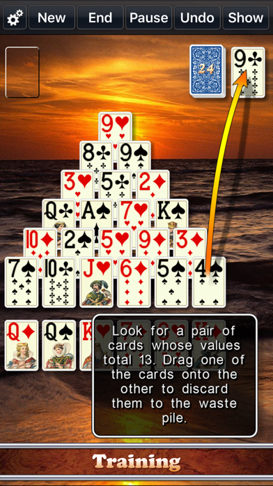 Screen Shot Solitaire City 4