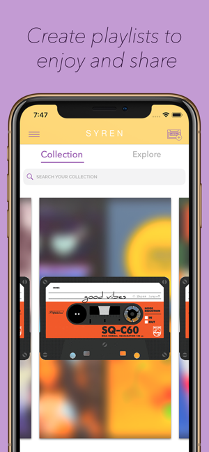 ‎Syren: Find Music With Friends Screenshot