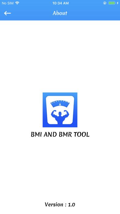 Bmi and Bmr Tool screenshot 7