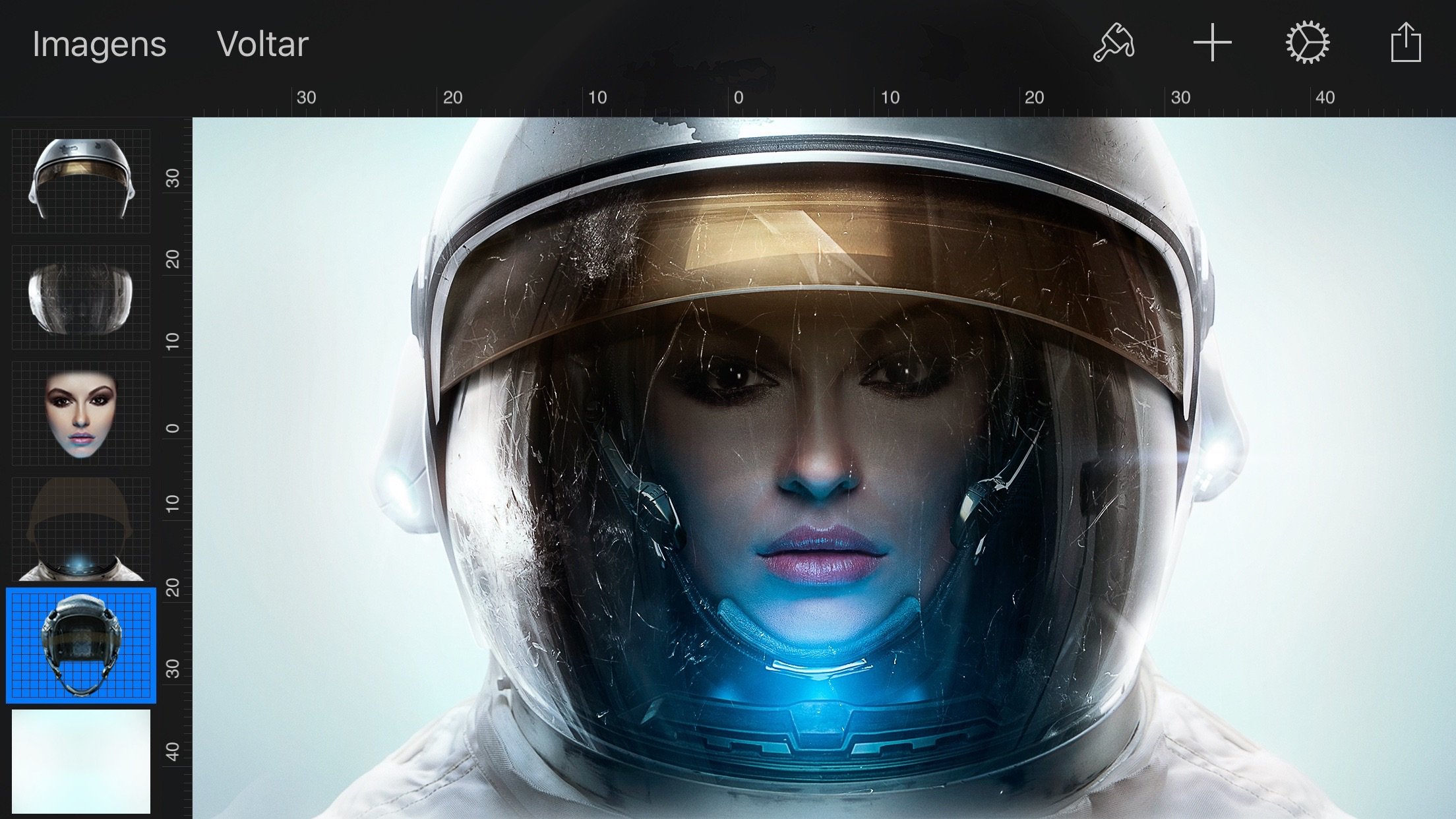Screenshot do app Pixelmator