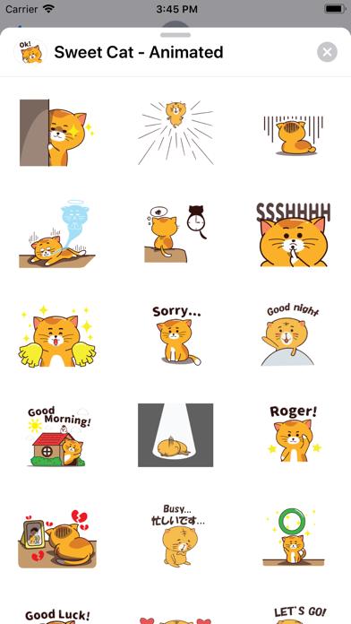 Sweet Cat - Animated screenshot 2