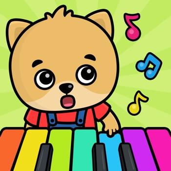 Piano spelletjes voor kinderen