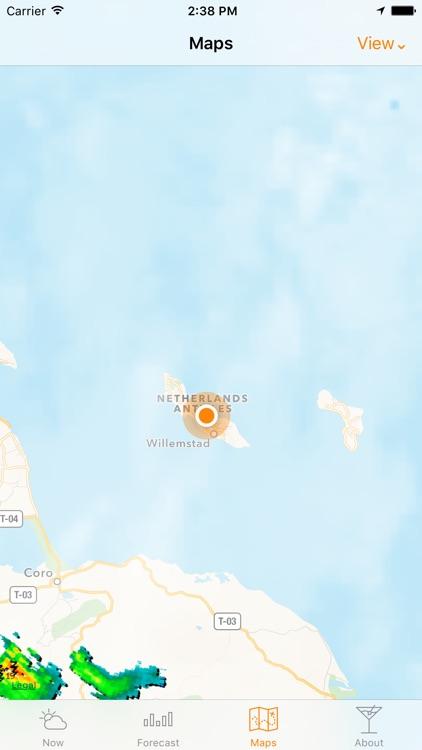 Curaçao Weather screenshot-3