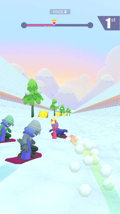 Snow Down! screenshot 4