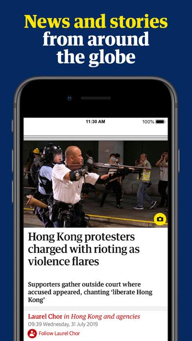 The Guardian: Breaking News Screenshot