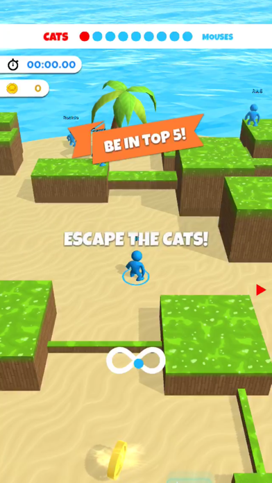 Cat and Mouse .io screenshot 1