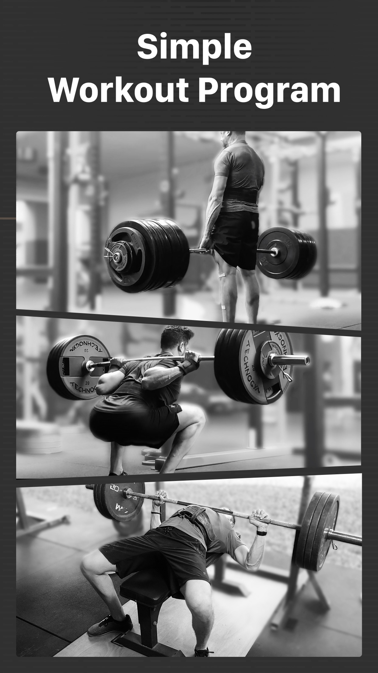StrongLifts 5x5 Weight Lifting Screenshot