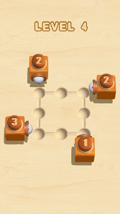 Fit Wood Ball: Funny Stack 3D