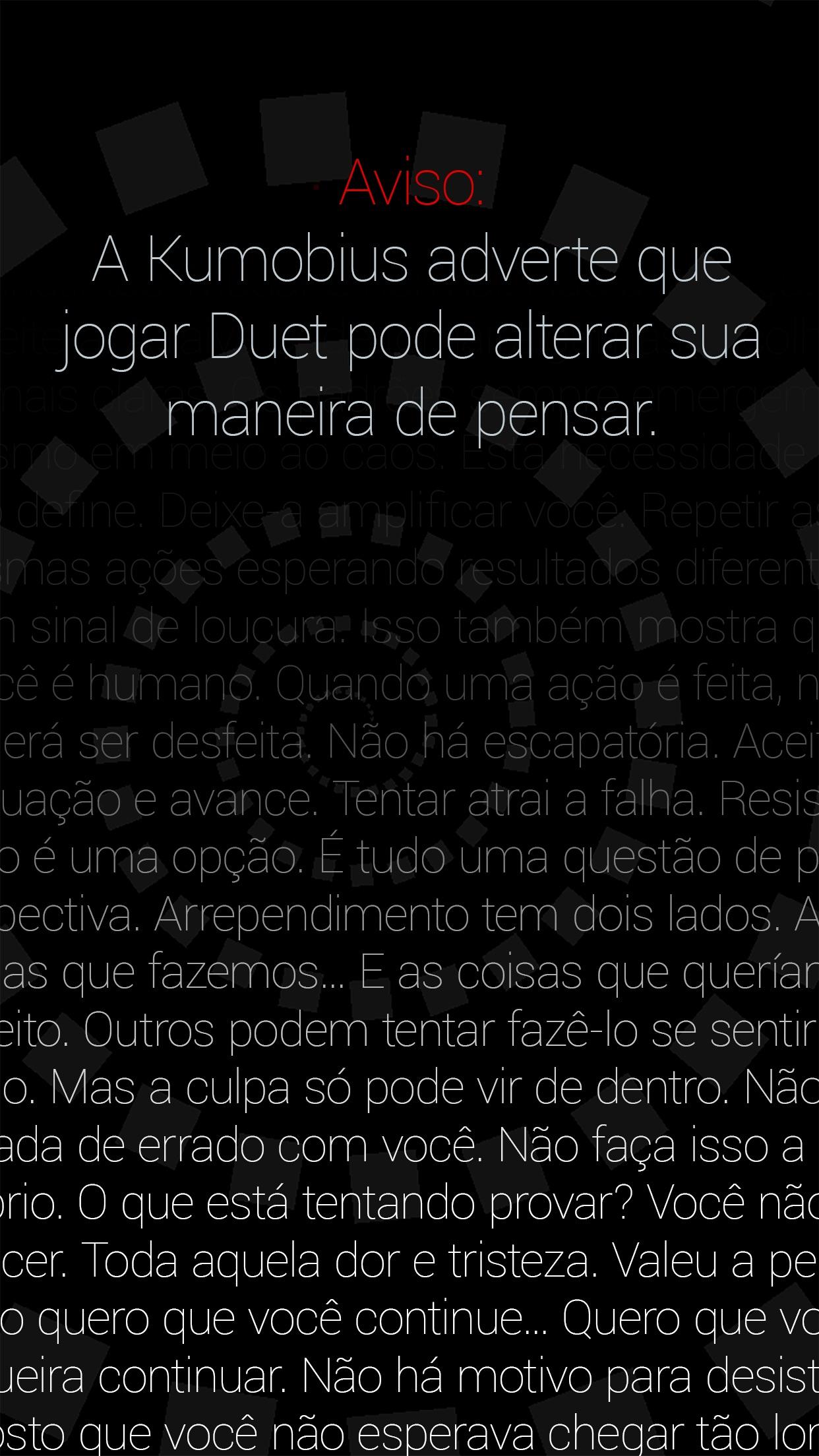 Screenshot do app Duet Game