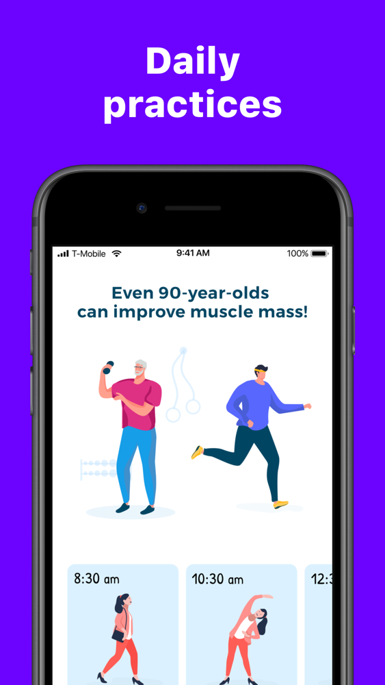 Viv - Healthy Body Exercises App for iPhone - Free Download Viv