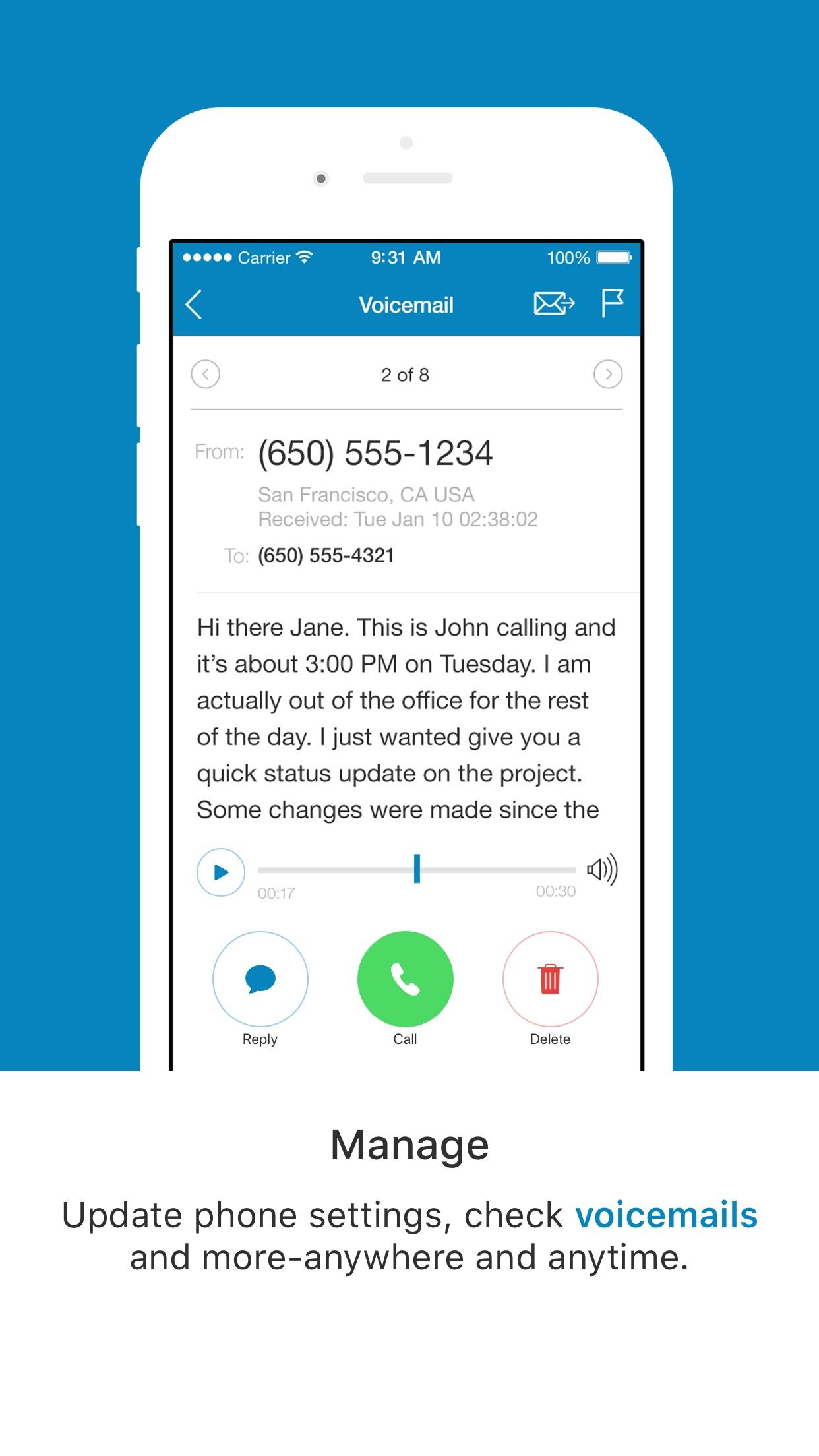 RC Phone Screenshot
