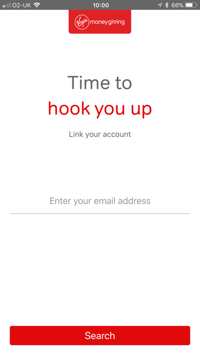 Virgin Money Giving screenshot two