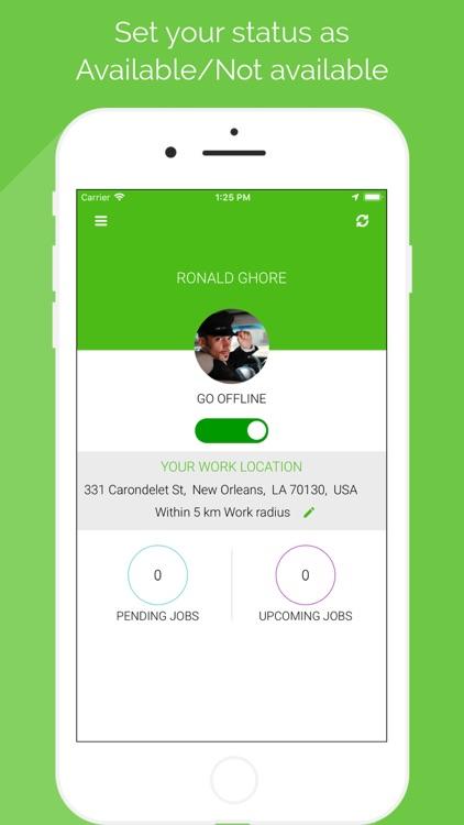 Werki App for Service Provider