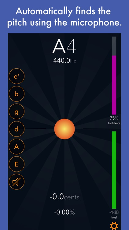 Tuna Pitch - chromatic tuner