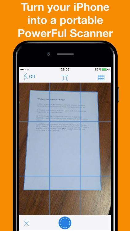 Mobi-Scan: PDF Scanner App screenshot-0