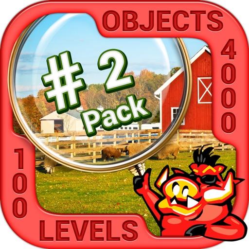 Pack 2 - 10 in 1 Hidden Object