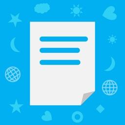 言語ノート: 外国語学習者のためのシンプルなノート