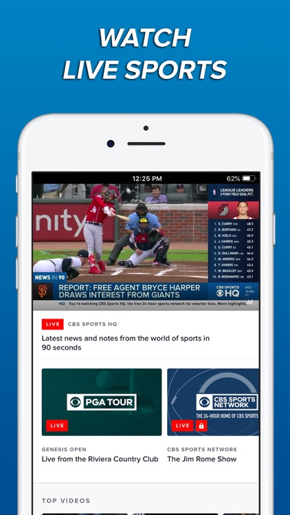 CBS Sports App Scores & News screenshot-5