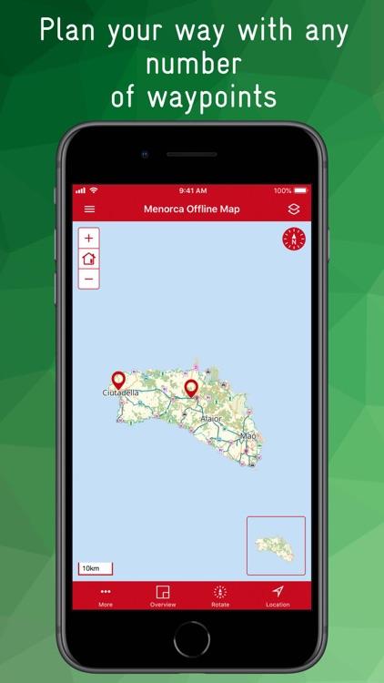 Menorca Offline Map screenshot-9
