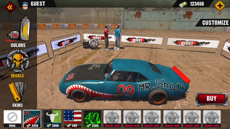 Demolition Derby 2019 screenshot-4
