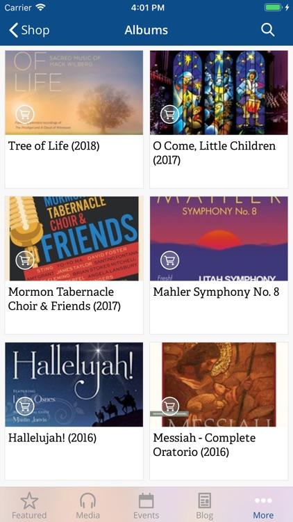 The Tabernacle Choir screenshot-3