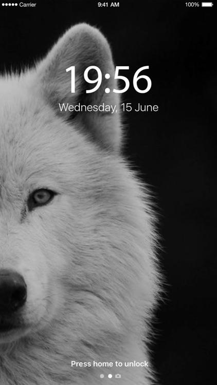 Lone Wolf Wallpapers screenshot-3
